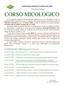 thumbnail of AVVISO ISCRIZIONE CORSO MICOLOGICO