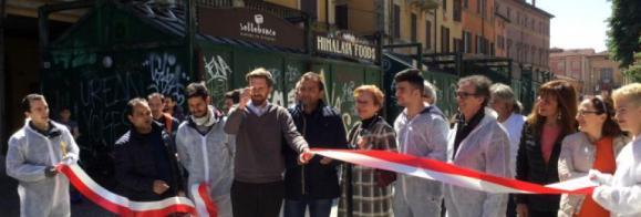 inaugurazione piazza Aldrovandi