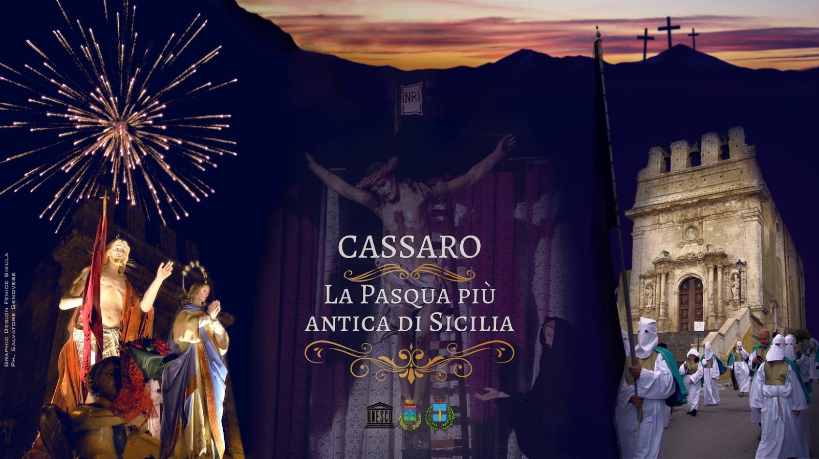 Cassaro ~ La Pasqua più antica di Sicilia dal 14 al 28 Aprile 2019