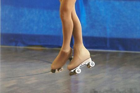 Gaia Mauriello medaglia d'oro pattinaggio artistico su rotelle