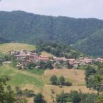 Pineto, vista del borgo