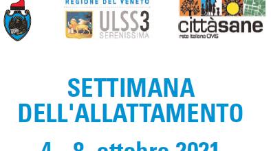 Comune di Venezia, Settimana dell'allattamento, 4 – 8 ottobre 2021: Mamma e Papà: legami che nutrono le relazioni col neonato