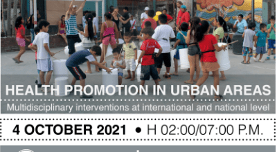 Seminario_ Health promotion in urban areas: multidisciplinary interventions at international and national level