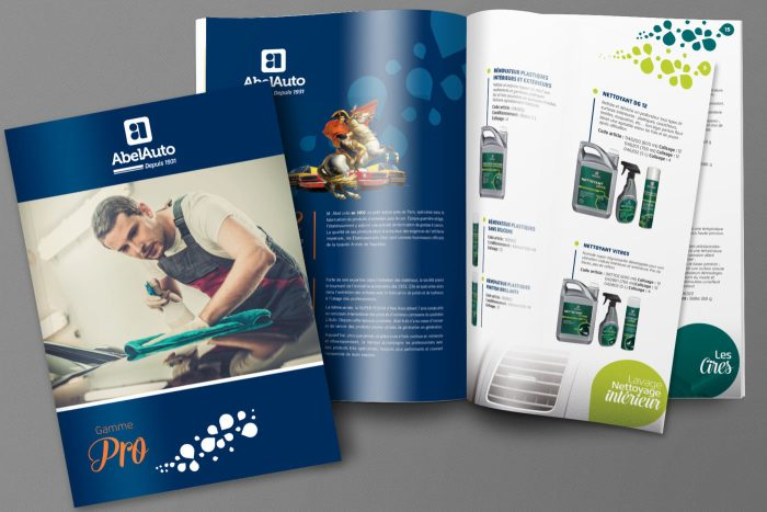 Mockup catalogue Abel Auto