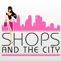 logo shops and the city
