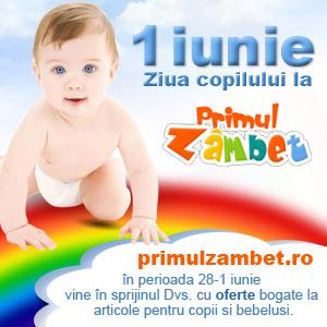 1 Iunie - Ziua Copilului - www.primulzambet.ro