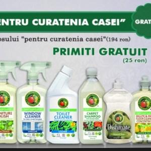 Aici gasesti o gama larga de detergenti bio