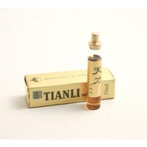 Fiolele Tianli au la baza un amestec de plante medicinale si terapeutice