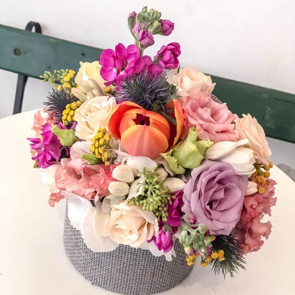 Florile In Cutie Noul Trend In Materie De Aranjamente Florale