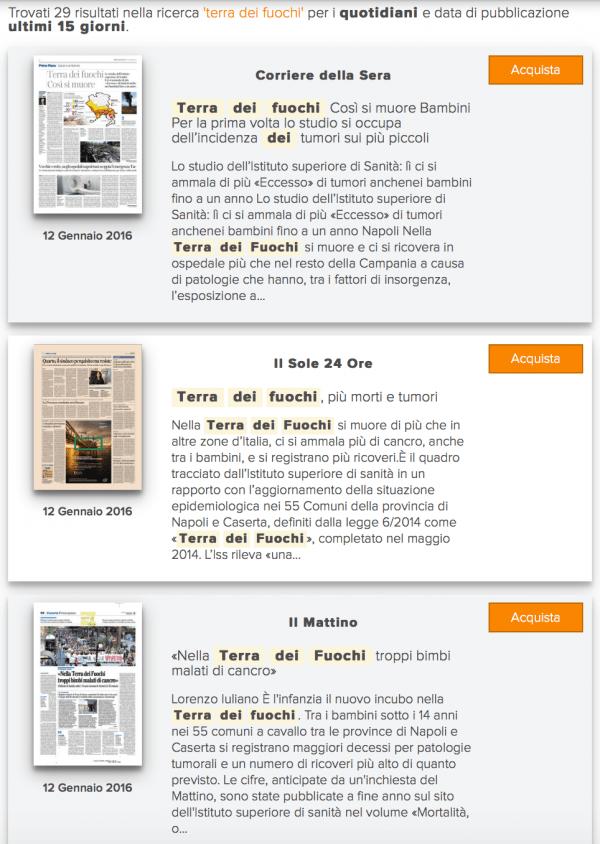 Come fare una rassegna stampa cartacea: i risultati della nostra campagna stampa