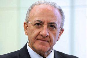 Vincenzo De Luca fa il punto sul programma elettorale