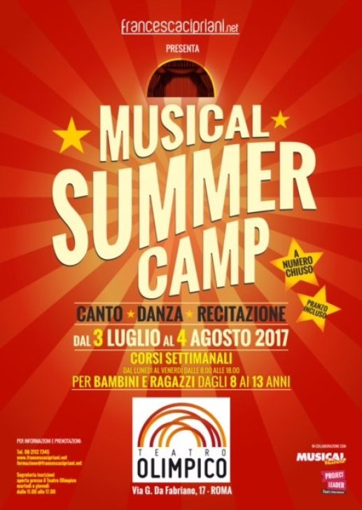 A Roma il Musical Summer Camp