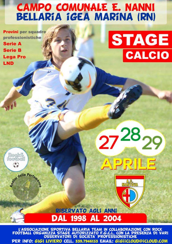 Calcio: parte a Bellaria la selezione dei futuri campioni per squadre di serie A, B e Lega pro