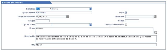 Ejemplo 1 enlace de sistema AbsysNet biblioteca