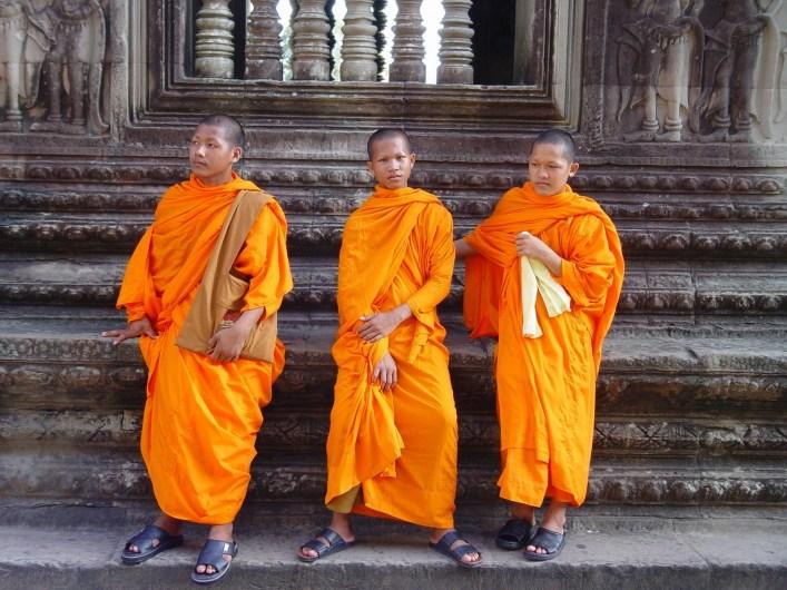 Monjes Vietnam