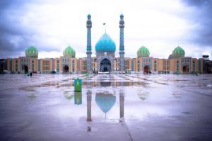 Mezquita Jamkaran en Irán