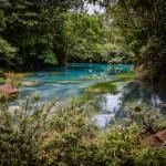 Río Celeste en Costa Rica