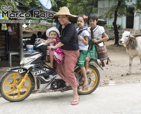 Birmania, el país de la eterna sonrisa por Manuel Blanco