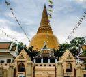 Phra Pathom Chedi pagoda (Tailandia)