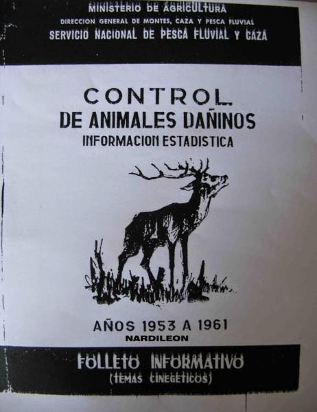 Control de animales dañinos