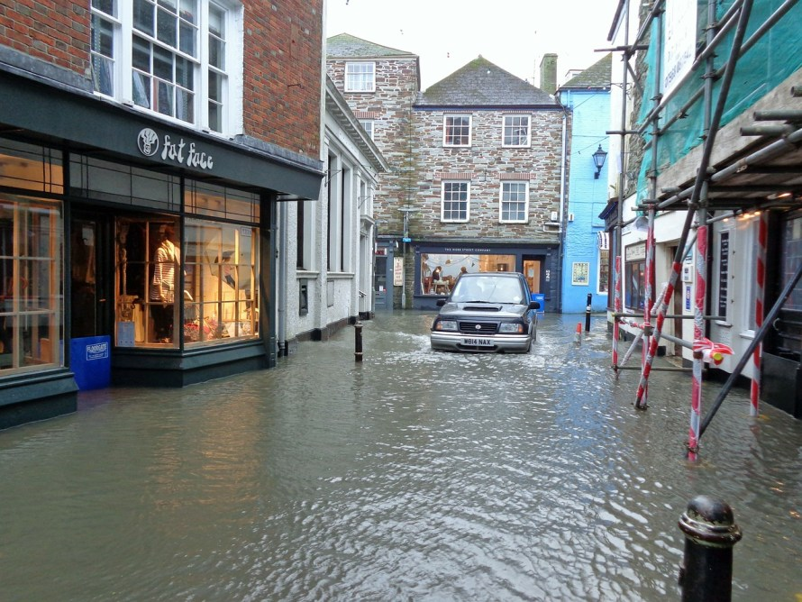 flood in town