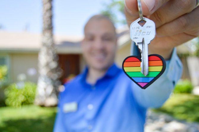 a house key