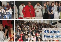 Gratitud y alegría por los 45 años del Centro