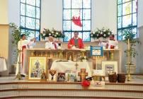 Visita de Mons. Mestre a Necochea
