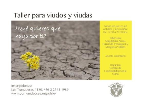 Taller para viudos y viudas @ Vitacura | Región Metropolitana | Chile