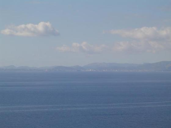 Palma Bay from Edorado