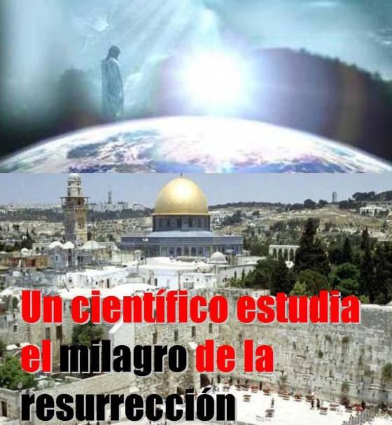 Un científico estudia el milagro de la resurrección-Portada