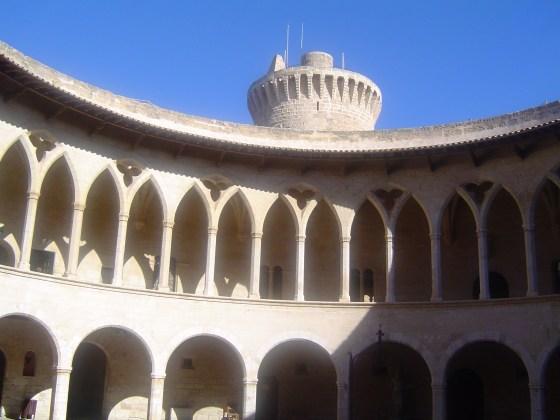 Castle inside