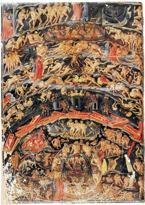 Infierno de Dante Aguilieri
