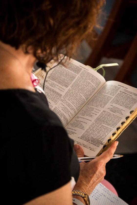 Retiro 2015 Leyendo la Biblia con atención