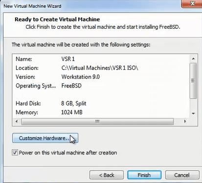 HP VSR instalar 12