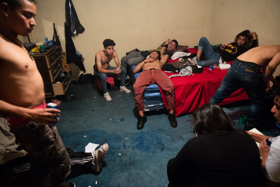 Soul Style Crew members in a house party in zone 6 Guatemala City. Photo: Hyungsup Kim/Comvite