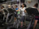 People exercise in a local gym in La Antigua Guatemala. Photo: Santiago Billy/Comvite