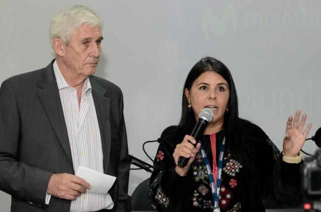 Estoy leyendo un comunicado de Movistar que recoge el registro de una actividad hecha en su sede en Venezuela, en los espacios de la Mega Sala Movistar