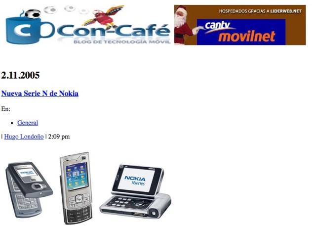 Vista Con-Cafe.com 2005