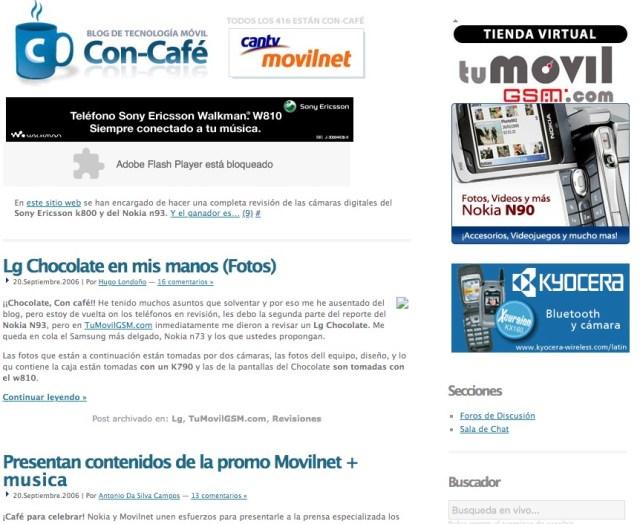Vista Con-Cafe.com 2006