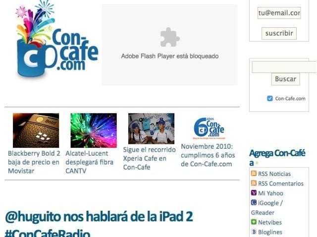 Versión Con-Cafe.com - 2011