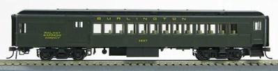 HO 1930's BCS Chicago & NW Pullman Green Passenger Combine 1-94356