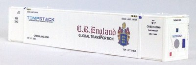 N 53 Ft TK/Reefer Container CR ENGLAND White 2PK (01)
