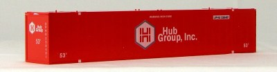 N 53 Ft Std Container  HUB GROUP (RED) 2PAK-1