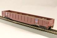 HO Gondola /with Resin Tie Half load Union Pacific Railway - Boxcar Red (02)