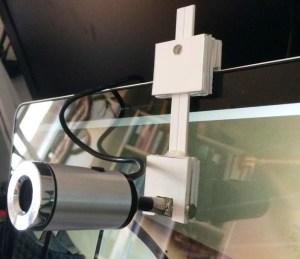 DIY Webcam holder for LapTop