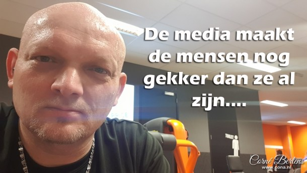 Media maakt mensen gekker