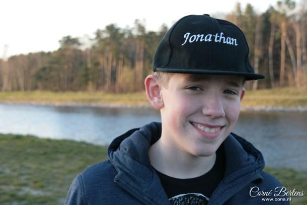 Mijn zoon Jonathan