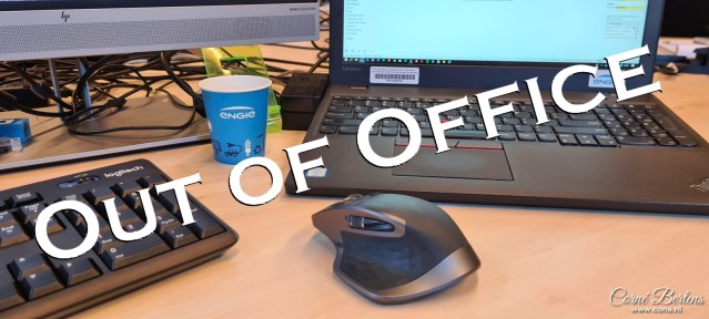 Out of Office…
