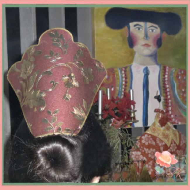 Peina a juego con pendientes de Artepeinas en su colección en We Love Flamenco